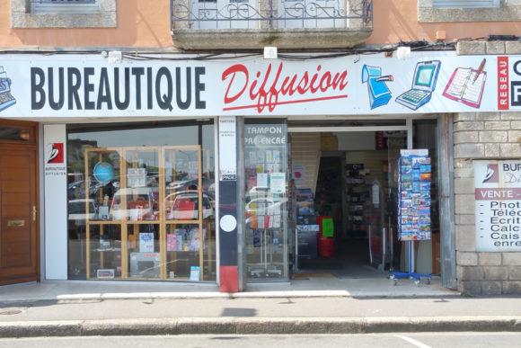 Bureautique diffusion commerces et boutiques de concarneau for Fourniture de bureau quimper